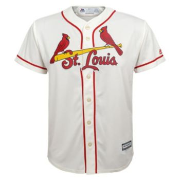 Boys 8-20 Majestic St. Louis Cardinals Replica Jersey