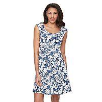 Women's Ronni Nicole Floral Jacquard A-Line Dress