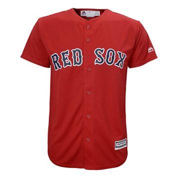 Boys 8-20 Majestic Boston Red Sox Replica Jersey