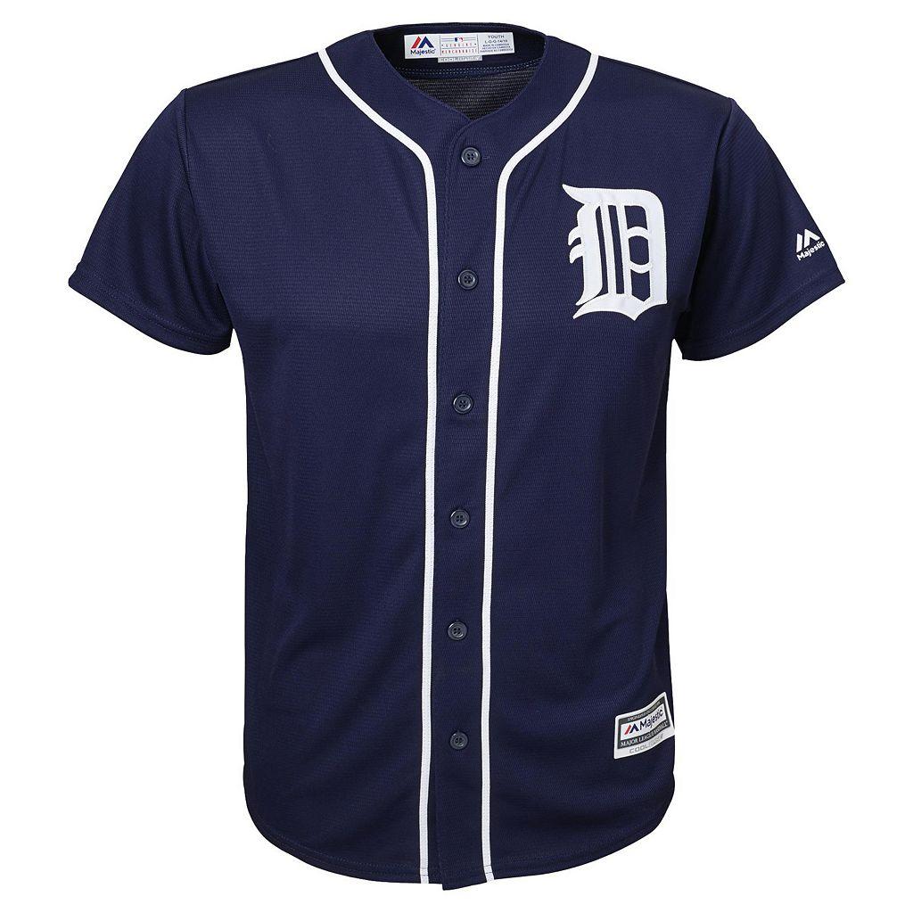 Boys 8-20 Majestic Detroit Tigers Replica Jersey