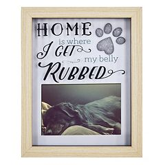 New View Paw Print Shadowbox 5.5' x 3.5' Frame