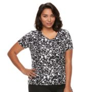 Plus Size Nike Miler Dri-FIT Short Sleeve Top