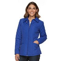 Women's Weathercast Zip-Front Quilted Jacket