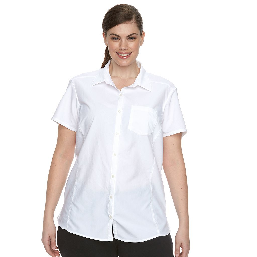 Plus Size Columbia Amberley Omni-Shade Shirt
