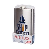 Wembley 64-Ounce Ship Faced Mega Flask