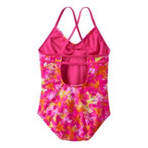 Girls 7-16 Speedo Jungle Floral One-Piece Swimsuit
