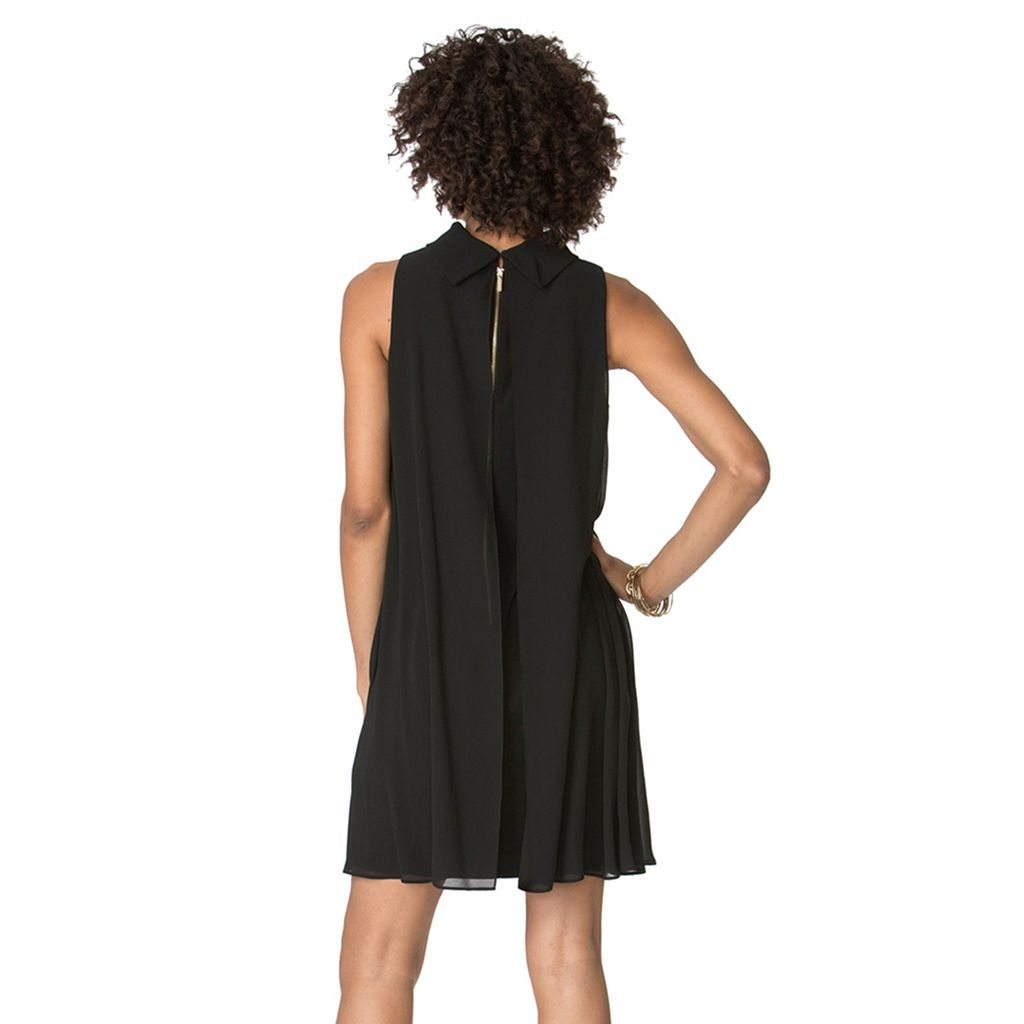 Women's Chaps Mockneck Shift Dress