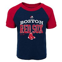 Toddler Majestic Boston Red Sox Game Ringer Tee