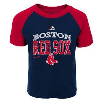Toddler Majestic Boston Red Sox Game Ringer Tee