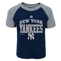 Toddler Majestic New York Yankees Game Ringer Tee