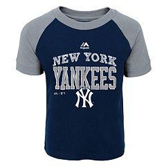 Toddler Majestic New York Yankees Game Ringer Tee