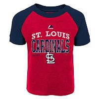 Toddler Majestic St. Louis Cardinals Game Ringer Tee