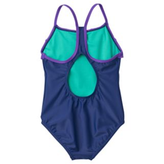 Girls 7-16 Speedo Ruffle One-Piece Swimsuit