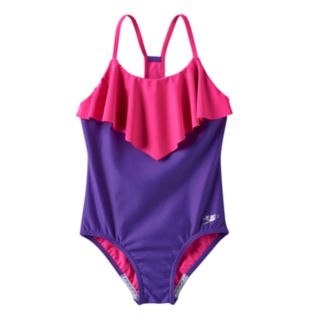 Girls 7-16 Speedo Ruffle One-Piece Swimsuit
