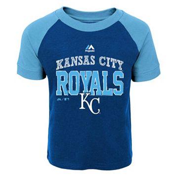Toddler Majestic Kansas City Royals Game Ringer Tee