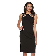 Women's Ronni Nicole Strappy Sheath Dress