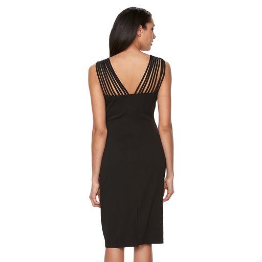 Women's Ronni Nicole Strappy Sheath Dress