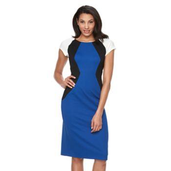 Women's Ronni Nicole Colorblock Sheath Dress