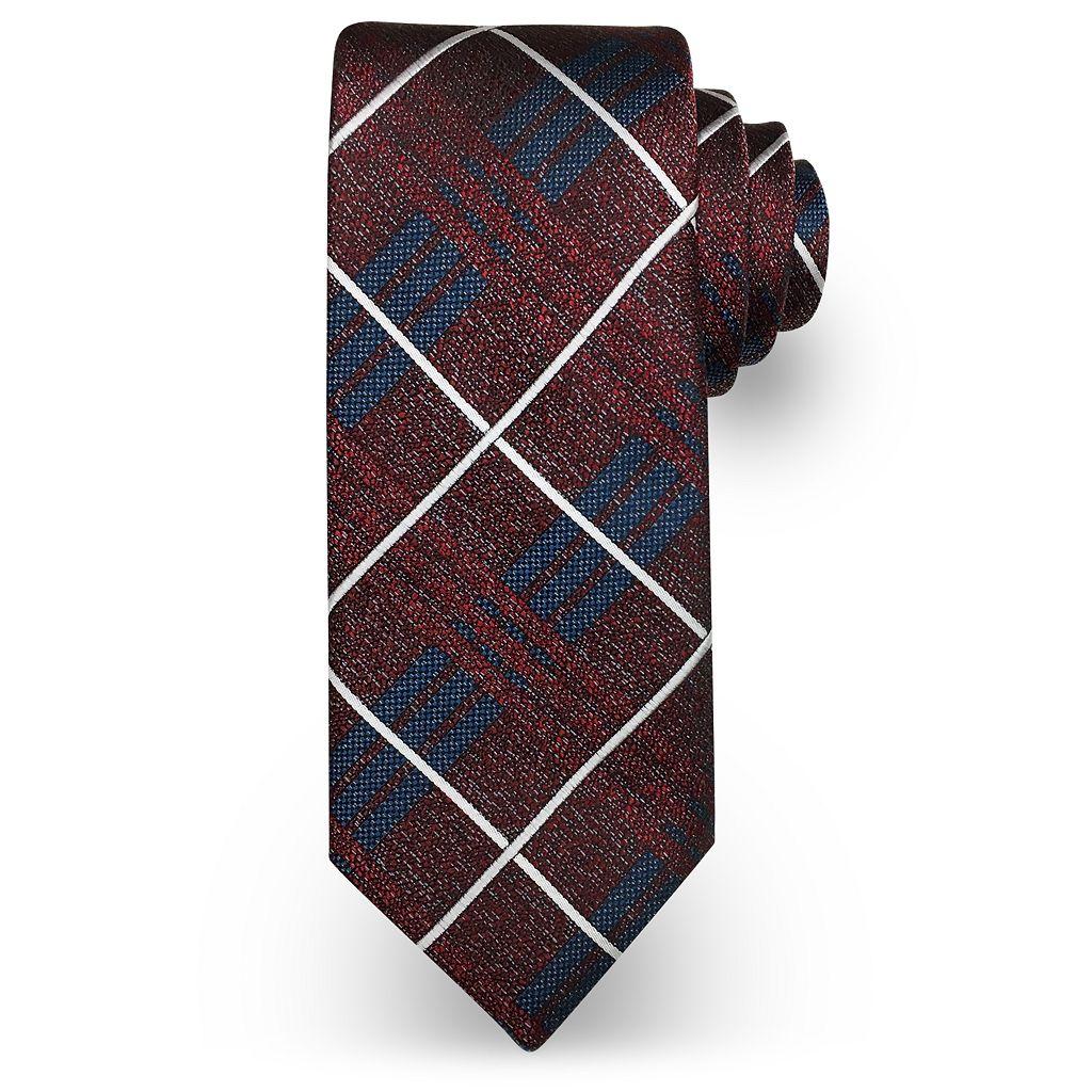 Men's Haggar Plaid Tie