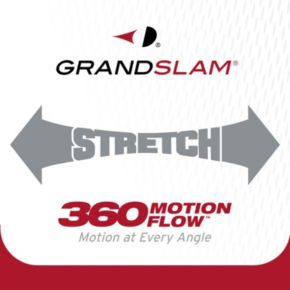 Men's Grand Slam Classic-Fit Striped Airflow Golf Polo
