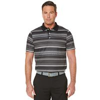 Men's Grand Slam Classic-Fit Striped Airflow Golf Polo
