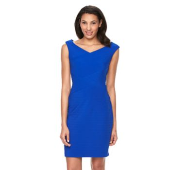 Women's Ronni Nicole Spliced Sheath Dress