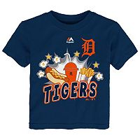 Toddler Majestic Detroit Tigers Hotdog & Fries Tee