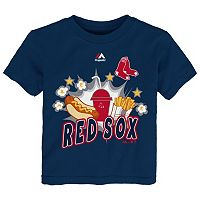 Toddler Majestic Boston Red Sox Hotdog & Fries Tee