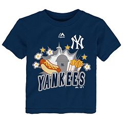 Toddler Majestic New York Yankees Hotdog & Fries Tee