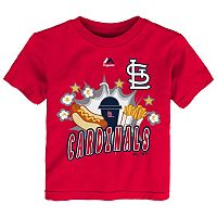 Toddler Majestic St. Louis Cardinals Hotdog & Fries Tee