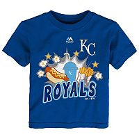 Toddler Majestic Kansas City Royals Hotdog & Fries Tee