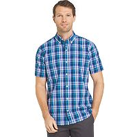 Men's IZOD Classic-Fit Essential Advantage Performance Woven Button-Down Shirt