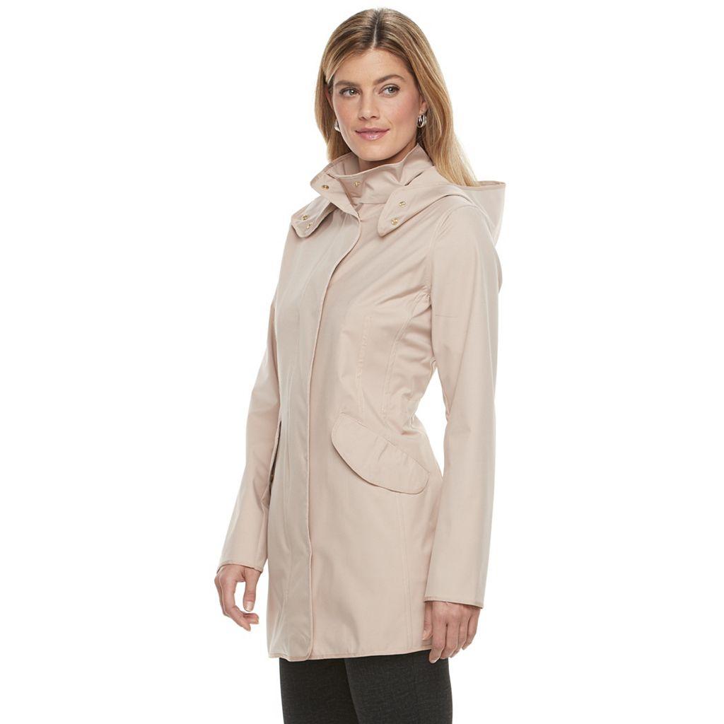 Women's Weathercast Hooded Performance Walker Rain Jacket