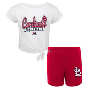 Toddler Majestic St. Louis Cardinals Tiny Trainer Tee & Shorts Set