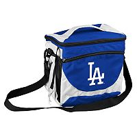 Logo Brand Los Angeles Dodgers 24-Can Cooler