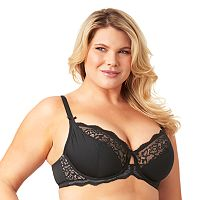 Olga Flirty Bra: Lace Unlined Full-Figure Bra GI9711A