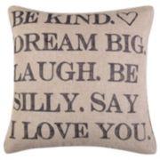 Santa Fe Be Kind Throw Pillow