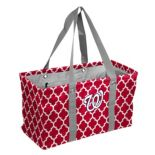 Logo Brand Washington Nationals Quatrefoil Picnic Caddy