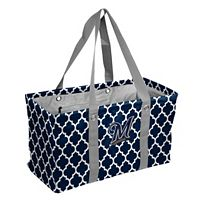 Logo Brand Milwaukee Brewers Quatrefoil Picnic Caddy