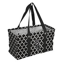 Logo Brand Chicago White Sox Quatrefoil Picnic Caddy