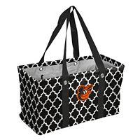 Logo Brand Baltimore Orioles Quatrefoil Picnic Caddy