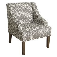 HomePop Finley Swoop Arm Accent Chair