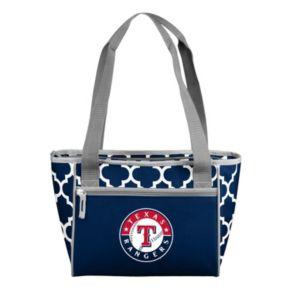Logo Brand Texas Rangers 16-Can Quatrefoil Cooler Tote