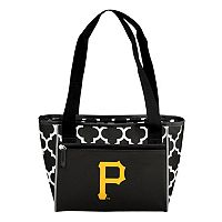 Logo Brand Pittsburgh Pirates 16-Can Quatrefoil Cooler Tote