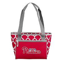 Logo Brand Philadelphia Phillies 16-Can Quatrefoil Cooler Tote