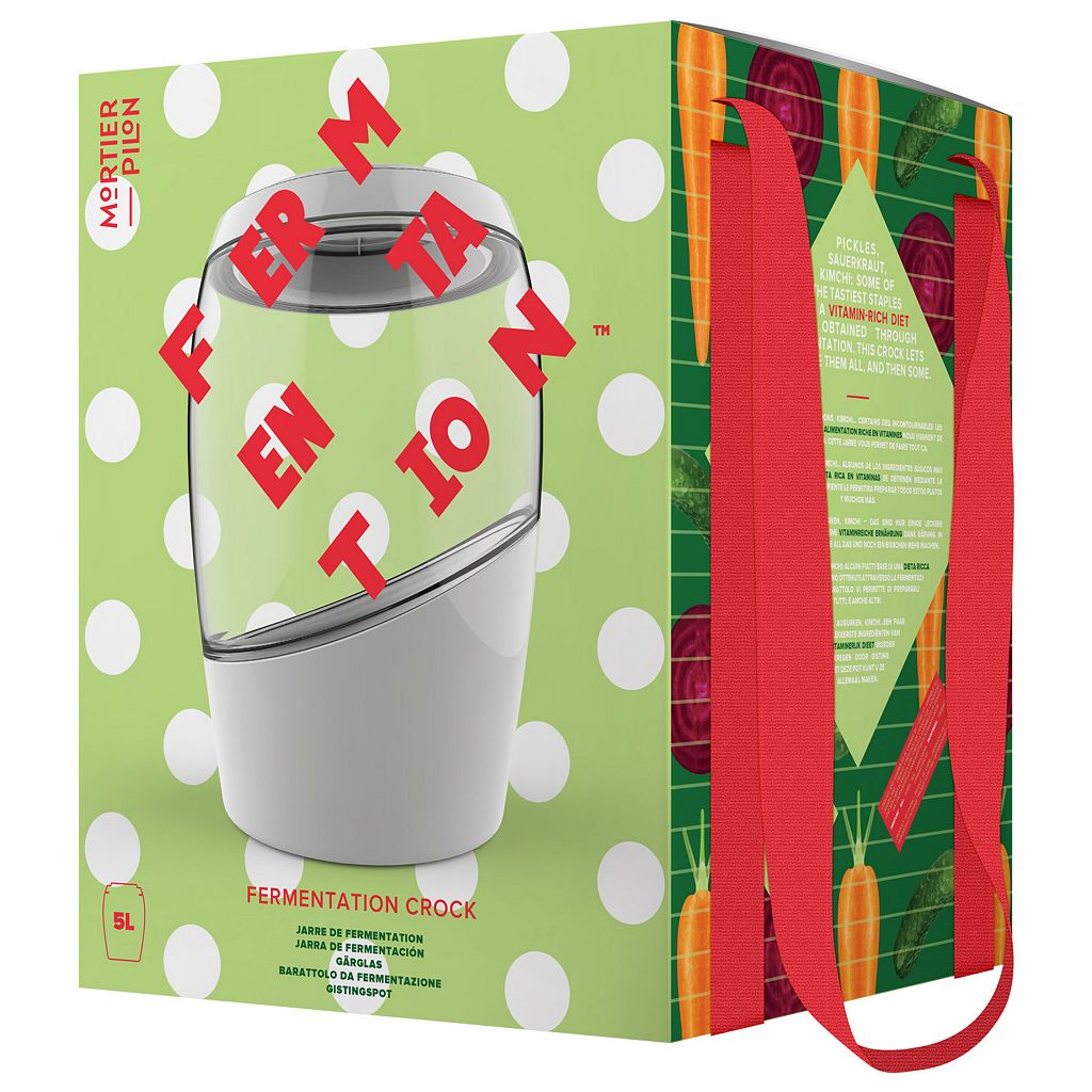Mortier Pilon 5-Liter Fermentation Crock