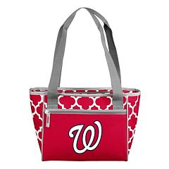 Logo Brand Washington Nationals 16-Can Quatrefoil Cooler Tote