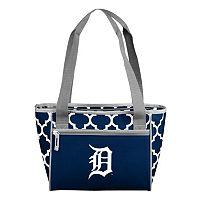Logo Brand Detroit Tigers 16-Can Quatrefoil Cooler Tote