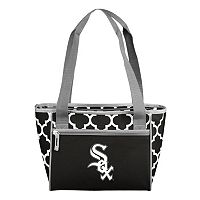 Logo Brand Chicago White Sox 16-Can Quatrefoil Cooler Tote