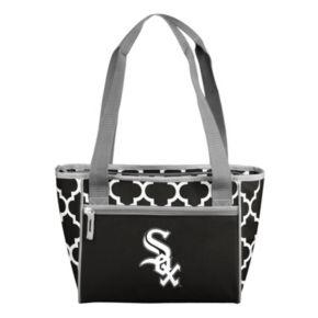 Logo Brand Chicago White Sox 16-Can Quatrefoil Cooler Tote